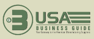 USA business guide Network is a group of industrial advertising sites for export in California, Texas, Atlanta, Miami, New York, USA list of certified American manufacturing, suppliers, wholesale vendors and US companies with international background to support worldwide business... usa automation, apparel, lingerie, shoes, furniture, usa beauty care, health care, chemical, automotive, usa electronics, industrial equipment, communications, tiles, usa costruction, wine, vacations, real estate... in the United States of America